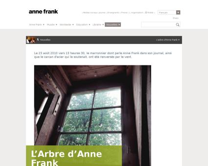 L Arbre d Anne Frank Anne