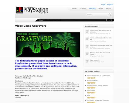 Video game graveyard Steven