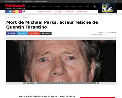 116263 mort de michael parks acteur feti Michael
