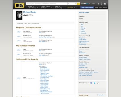 Awards Michael