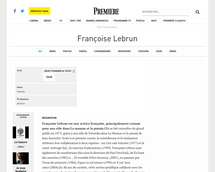 Francoise Lebrun Francoise