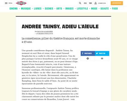 Andree TAINSY