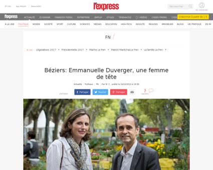 Emmanuelle DUVERGER