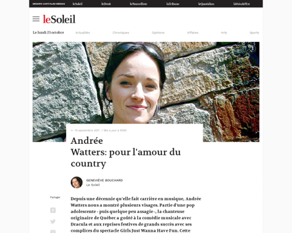01 4433233 andree watters pour lamour du Andree