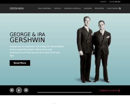 gershwin.com Georges