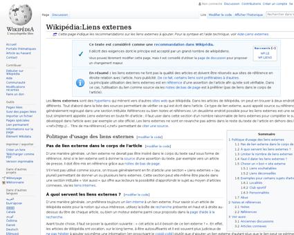 Wikipédia:Liens externes Anne