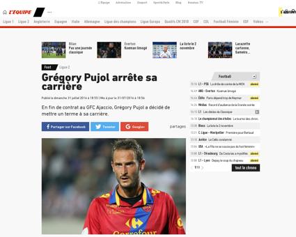 Gregory PUJOL