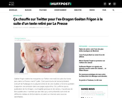 Gaetan FRIGON