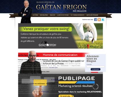 Gaetanfrigon.com Gaetan