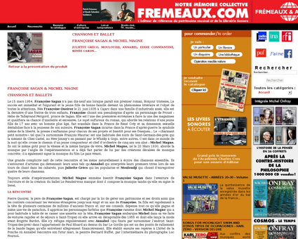 francoisesagan.fr Francoise
