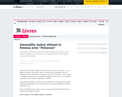 Gwenaelle AUBRY