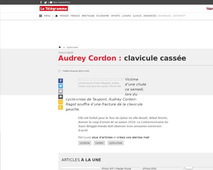 Audrey CORDON