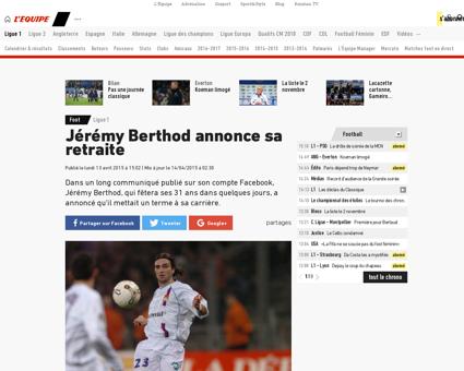 Jeremy BERTHOD