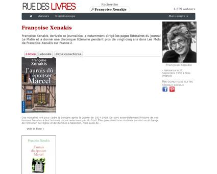 Francoise XENAKIS