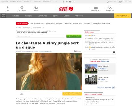 Audrey JUNGLE