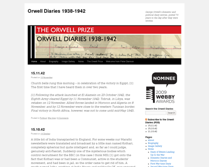 Orwelldiaries.wordpress.com Georges
