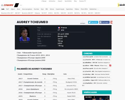Audrey TCHEUMEO
