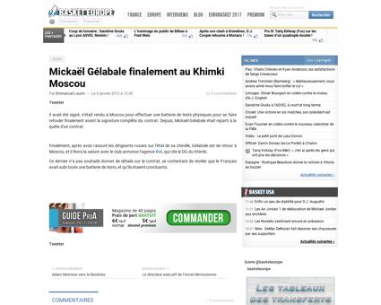 Mickael GELABALE