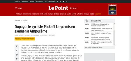 Mickael LARPE