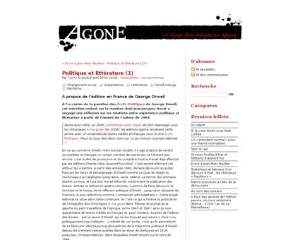 Politique et litterature 1 Georges