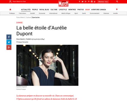 La belle etoile d Aurelie Dupont 576062 Aurelie
