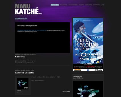 manu katche.com Manu