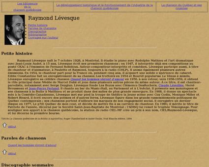 Levesque Raymond