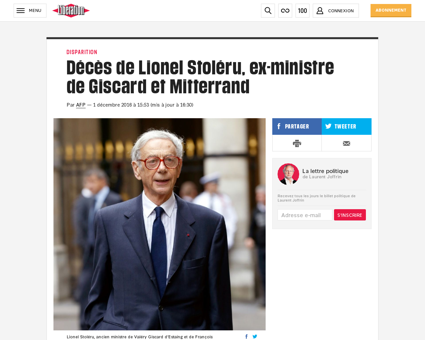 Lionel STOLERU