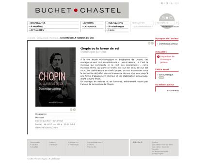 Chopin ou la fureur de soi dominique jam Frederic