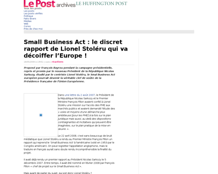 1194736 small business act le discret ra Lionel
