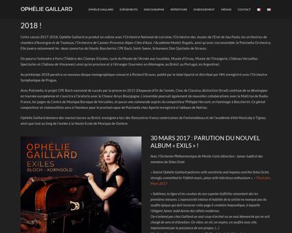 opheliegaillard.com Ophelie