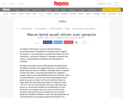 Ayme chrono Marcel