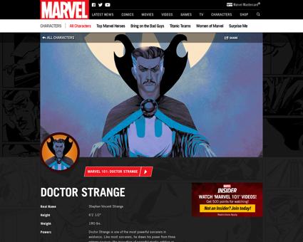 Doctor strange Stephen