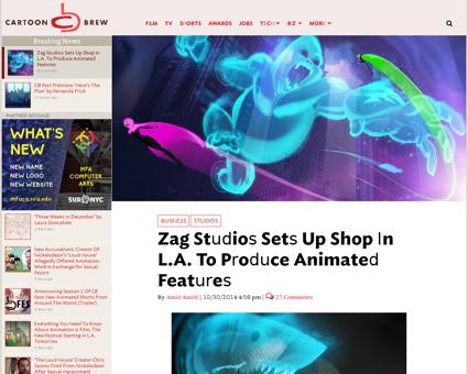Zag studios sets up shop in la to produc Jeremy