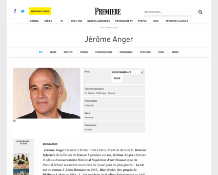 Jerome ANGER
