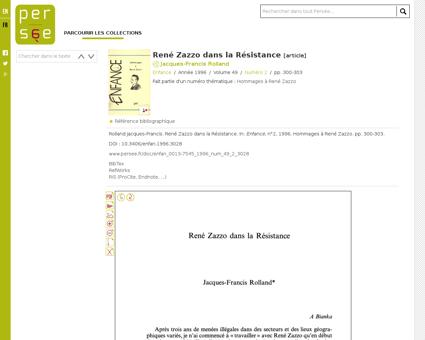Rene ZAZZO