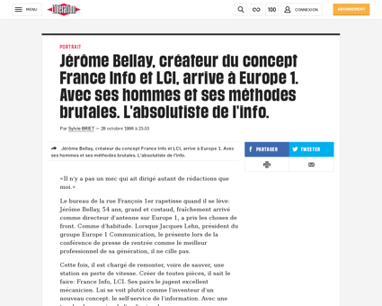 Jerome BELLAY