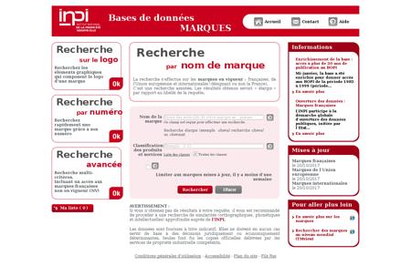 Typo3 INPI Marques Mickael