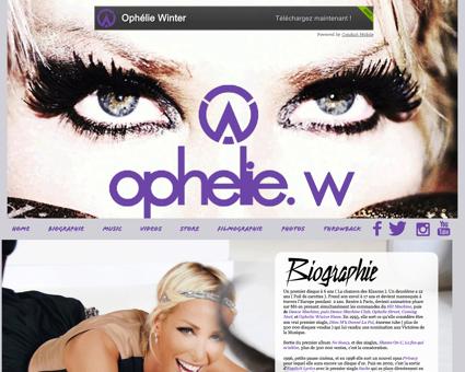 ophelie winter.com Ophelie