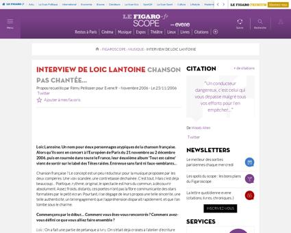 Interview loic lantoine francois tout es Loic