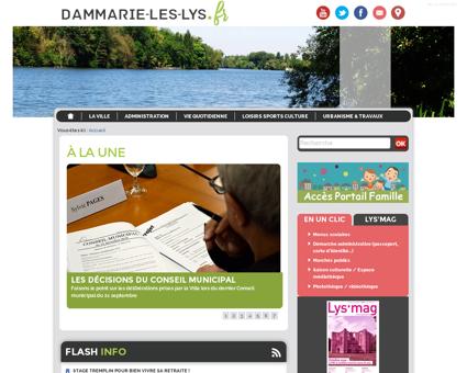 mairie dammarie les lys.fr Rene