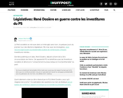 Rene DOSIERE