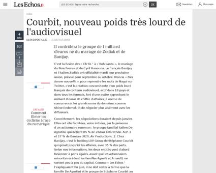 Stephane COURBIT