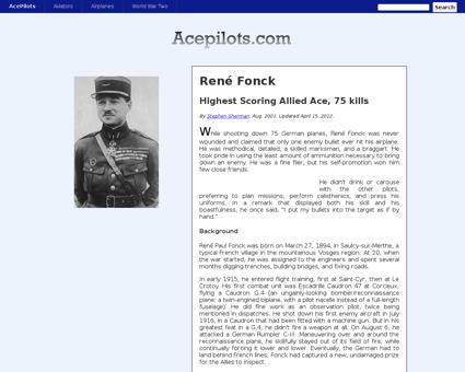 Fr fonck Rene
