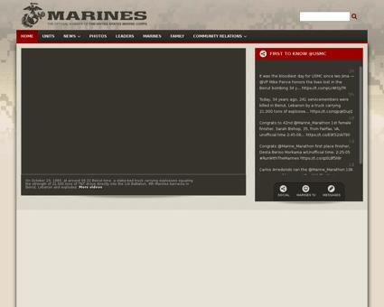 usmc.mil Marine