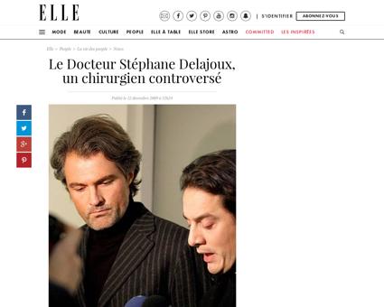 Le Docteur Stephane Delajoux un chirurgi Stephane
