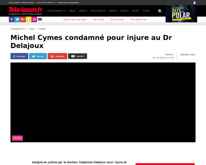 9446 michel cymes condamne pour injure a Stephane