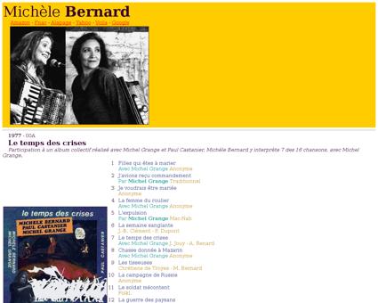 Bernard michelle Michele