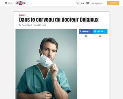 Dans le cerveau du docteur delajoux 7237 Stephane