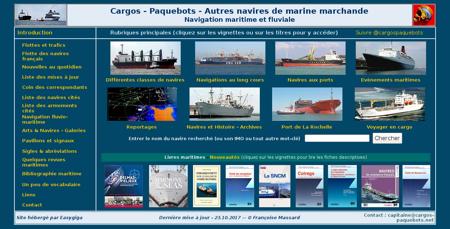 Cargos paquebots.net Marine